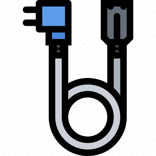 cable, computer, data, information, port, power, protection icon