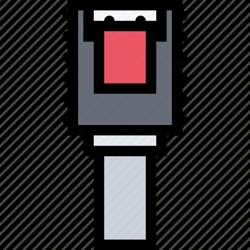 computer, data, information, port, protection, sata icon