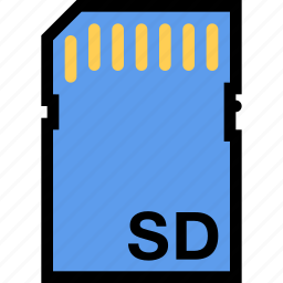 card, computer, data, information, port, protection, sd icon