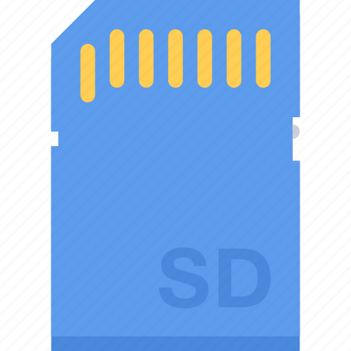 card, computer, data, information, protection, sd, technology icon