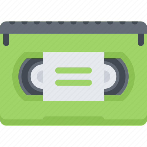 computer, data, information, protection, technology, videocassette icon
