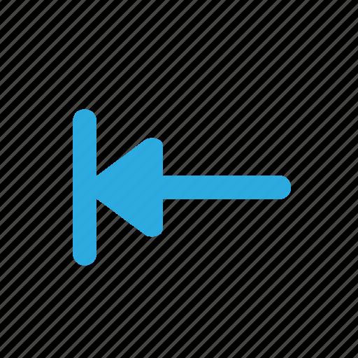 arrow, forward, left, move, tab icon