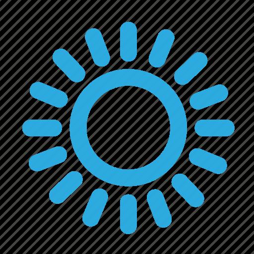 brightness, bulb, light, source, sun icon