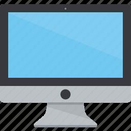 blank, computer, display, imac, monitor, screen, technology icon