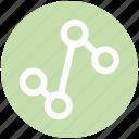 .svg, connect, diagram, graph, line graph, status icon