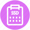 .svg, data storage, hard drive, sata hard, solid state disk, ssd icon