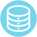 .svg, data storage, hard data storage, network, safe, server, storage icon