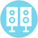 .svg, entertainment, loudspeaker, music, sound, speakers, woofers icon