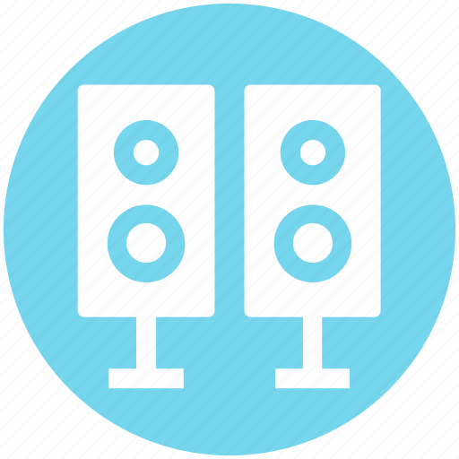 .svg, entertainment, loudspeaker, music, sound, speakers, woofers icon
