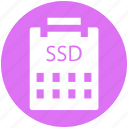 .svg, data storage, hard drive, sata hard, solid state disk, ssd icon