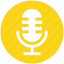 .svg, mic, microphone, recorder mic, speaker mic icon
