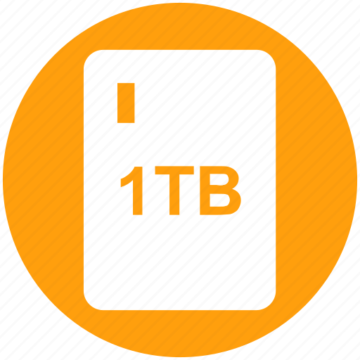 .svg, 1tb hard, drive, external hard, extra hard disk, hard disk, hdd icon