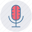 mic, microphone, recorder mic, speaker mic icon