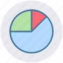 analytics, chart, diagram, pie, pie chart icon