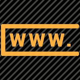 address, web, www, www.com, www.comaddress icon