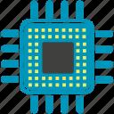 cpu, gpu, microchip, microprocessor icon