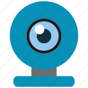 cam, chat, photo, video, web icon