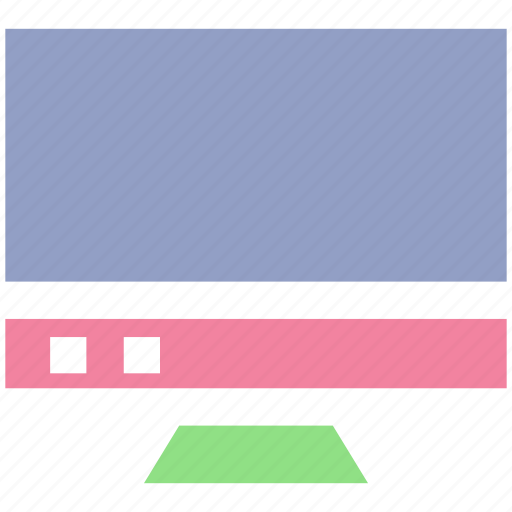 .svg, computer, laptop, lcd, online education, screen, technology display icon