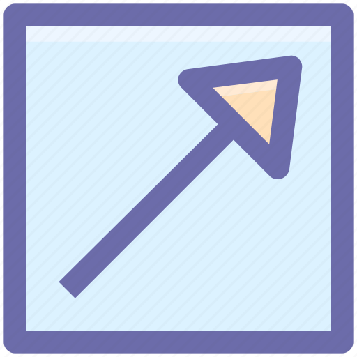 .svg, arrow, box, chart, graph, up icon