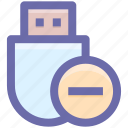 .svg, data saver flash, data stick, flash, flash drive, misus, usb icon