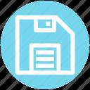 .svg, disk, diskette, floppy, floppy disk, floppy front, save