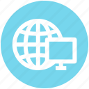 .svg, browser, earth, globe, lcd, lcd screen, world icon