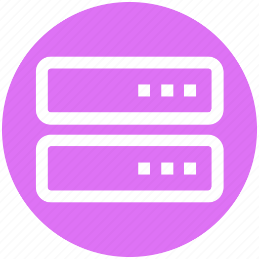 .svg, data, data storage, database, rack, server, web host icon