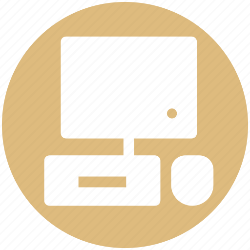 .svg, desktop, display, keyboard, lcd, mouse, pc icon