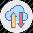 cloud, vga, vga cable, vga connector, vga lead, vga port, video graphics array icon