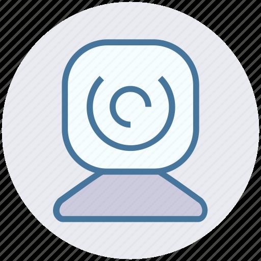 camera, camera device, web camera, web camera device, webcam icon