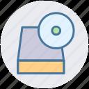 cd rom, disk rom, drive rom, dvd rom, rom icon