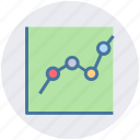 bar, chart, diagram, graph, pie chart icon