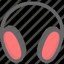 earphone, music icon