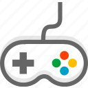 game, handle, play icon