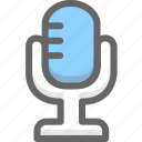 microphone, music, record, sound icon