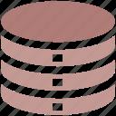 data storage, hard data storage, network, safe, server, storage icon