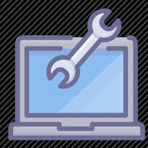 computer, laptop, maintenance, pc icon