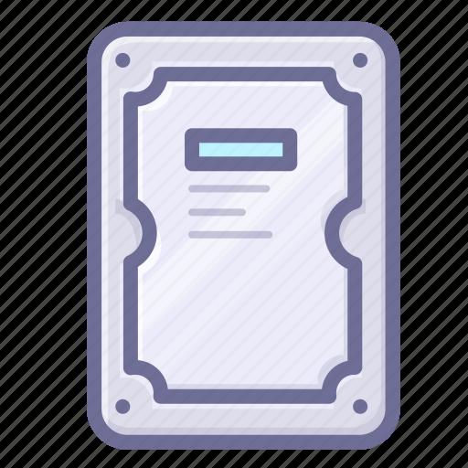 hard disk, harddisk, storage icon