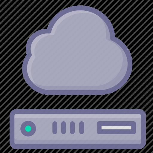cloud, hosting, server, storage, vps icon