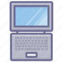 computer, laptop, monitor icon