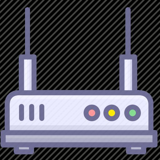 device, internet, network, router, wifi, wireless icon