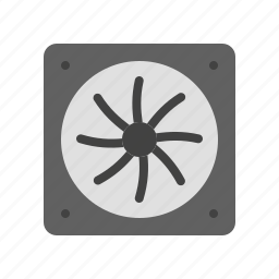 blower, computer, coolant, cooling fan, fan, hardware, processor fan icon