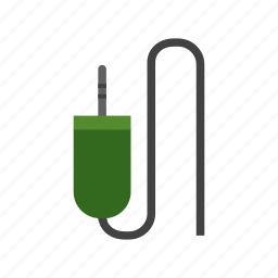 audio plug, computer, cord, plug, sound cable, system, wire icon