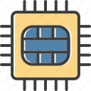 micro chip, chip, processor, memory