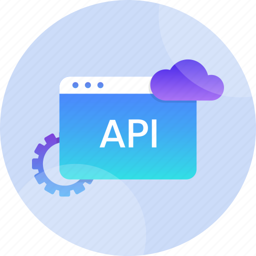 api, application, data, interface, internet, technology, web icon