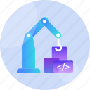build, design, developer, development, programming, project, technology icon