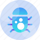 bug, code, computer, debug, error, insect, virus icon