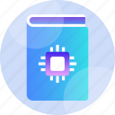 book, guide, handbook, hardware, help, manual, support icon