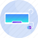 device, hardware, interfaces, keyboard, old, outdate, retro icon