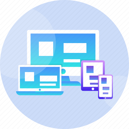 adaptive, design, desktop, mobile, programming, responsive, ui icon